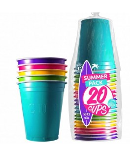 20 Gobelets Summer Original Cup 53 cl