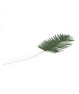 Feuille de palmier sur tige en plastique