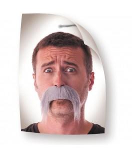 Moustache Keke grise