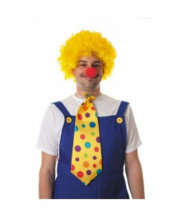 Cravate Clown Géante