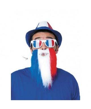 Longue barbe blanche avec élastique