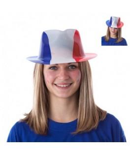 Chapeau de supporter Cowboy France tricolore