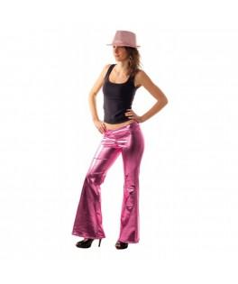 Déguisement Pantalon Disco Paillettes rose M/L