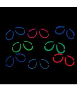 Lunettes néon couleurs
