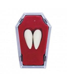 2 Canines de Vampire dans cercueil