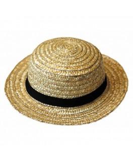 Chapeau de paille Guinguette Luxe