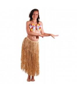 Déguisement Jupe Hawaïenne raffia naturel
