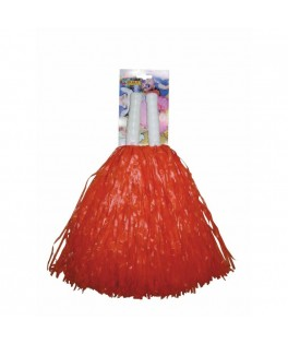 Paire Pom pom Supporter Orange