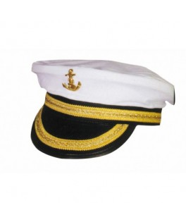 Casquette Officier de la Marine adulte