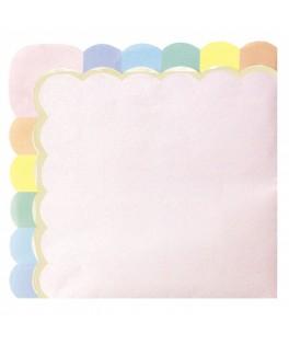 Serviettes papier menthe