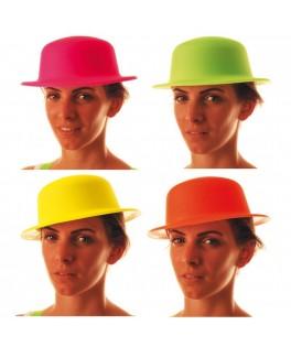 Chapeau melon Fluo