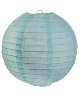 Lanterne papier Bleu 50 cm