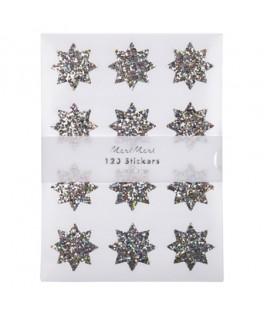 120 Stickers Etoiles scintillantes