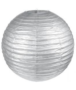Lanterne papier Argent 50 cm