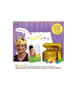 Set Princesse - 4 Couronnes en mousse à décorer