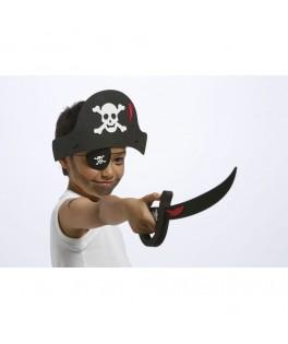 Set Pirate - Déguisement en mousse à décorer