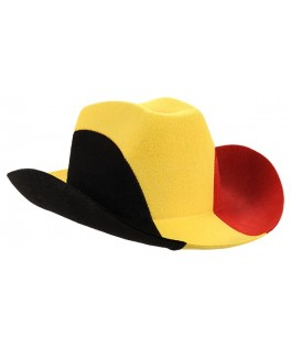 Chapeau Supporter Cowboy Belgique