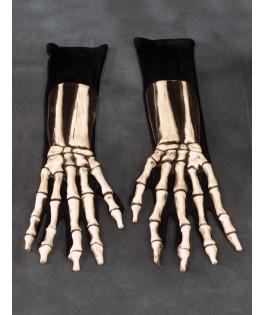 Gants Squelette Halloween