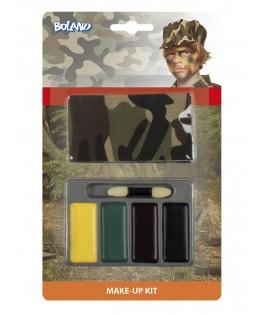 Kit de maquillage Militaire avec bandana
