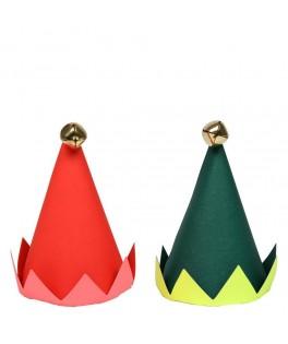 8 Chapeaux Tête d'Elfe
