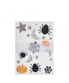 Stickers à paillettes Hallowen