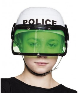Casque de police enfant