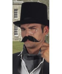 Moustache noire Baron