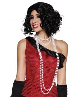 Collier de perles blanc Cabaret