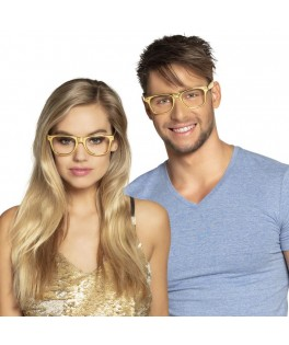 3 Lunettes Disco Or