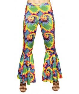 Déguisement Pantalon Hippie Flare