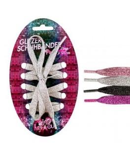 Lacets de chaussures à paillettes 120 cm