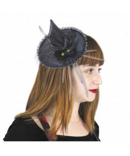 Chapeau sorcière Chat noir