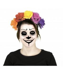 Serre-tête Fleur jour des Morts