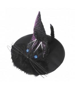 Chapeau de sorcière Yeux de Chat