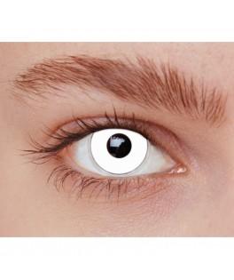 Lentilles fantaisie Iris blanc