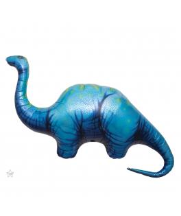 Ballon Dinosaure Apatosaurus métallisé 116 cm