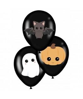 6 Ballons de baudruche Sweety Halloween