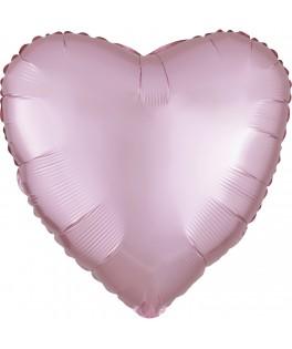 Ballon mylar Coeur rose pâle