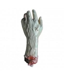 Main de zombie déchiquetée