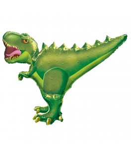 Ballon Dinosaure T Rex métallisé