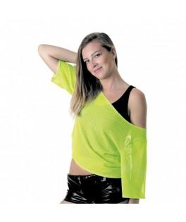 Tee-shirt Fluo  Vert