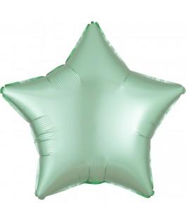 Ballon Etoile vert menthe