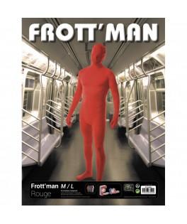 Déguisement Combinaison Frott'Man rouge