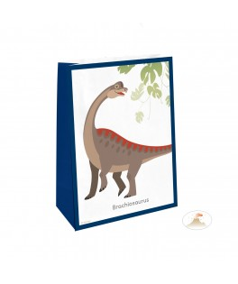 8 Sachets à bonbons Dinosaure