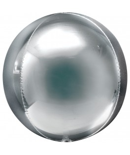 Ballon Jumbo argent