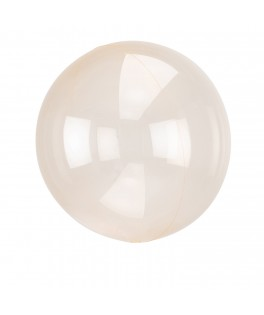 Ballon transparent orange