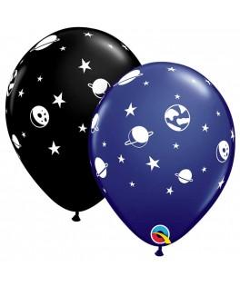 6 Ballons Espace