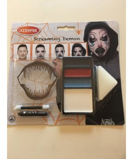 Kit de maquillage Screaming Demon