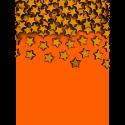50 Confettis Etoile en bois