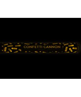 Canon à confettis Or